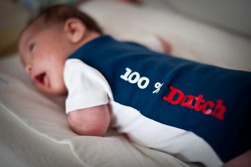 Tabatha Ayumi, 5 weeks old