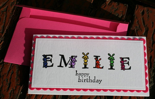 happy birthday Emilie