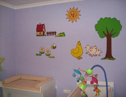 Una habitacion para el bebe - Manualidades para decorar habitacion bebe ...