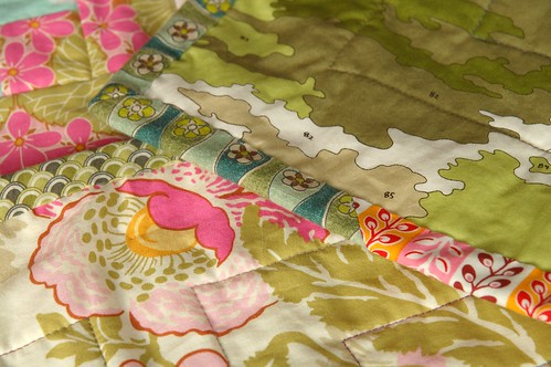 Nine Patch Baby Quilt