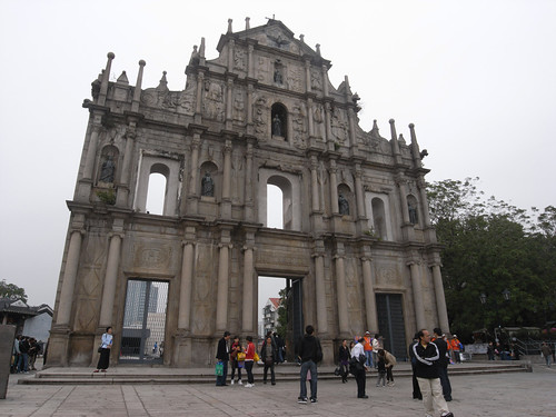 Ruins of St. Paul's 大三巴