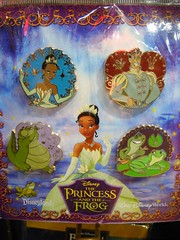 Princess and the Frog Pin Set (partyhare) Tags: movie louis pin alligator disney frog animation tiana lillypad naveen disneypin disneypintrading theprincessandthefrog worldofdisneynyc