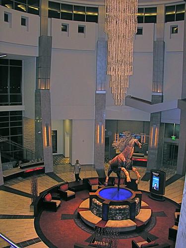 Atrium of Wild Horse Pass Hotel