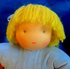 Soft waldorf doll (34 cm) (alja8) Tags: toys doll dolls handmade sewing waldorf softdoll bambola waldorfdoll waldorfdolls steinerdolls fabricdolls childrensdolls waldorftoys   waldorfcrafts waldorfcraft alja8sdolls