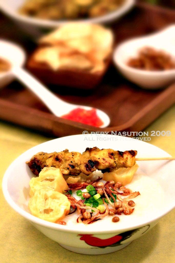 Bubur Ayam - Chicken Rice Porridge