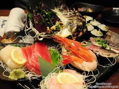 豐盛壽司晚餐
