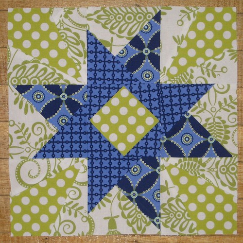 Traveling Threads block for SweetLibertyGrace