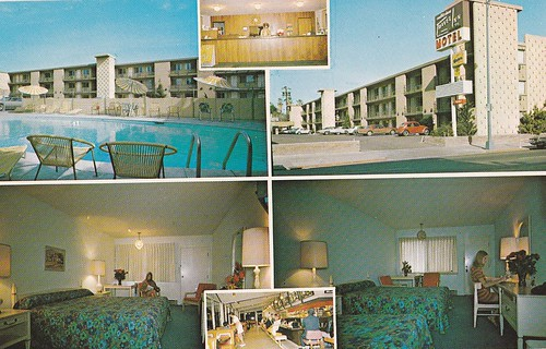 San Jose Travel Inn with Sambo's Restaurant 1960s