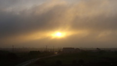 Smoky morning (of-etoile1) Tags: morning sky cloud sun soleil ciel nuage brume matin