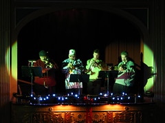 Brass Quartet (jeffs4653) Tags: christmas newyork movie theater itsawonderfullife 1946 suffern rocklandcounty suffernny frankcapra lafayettetheater christmas2009