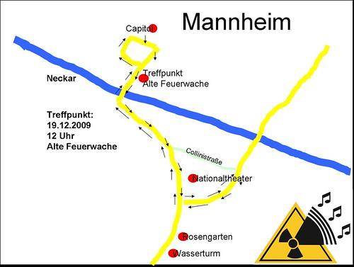 Ich hupe für den Atomausstieg in Mannheim