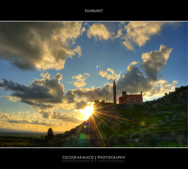 Paternò - Sunburst :: HDR