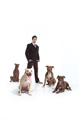 (djtino) Tags: dog love dj peace pit bull anthony pitbulls sanchez tino whisperer djtino