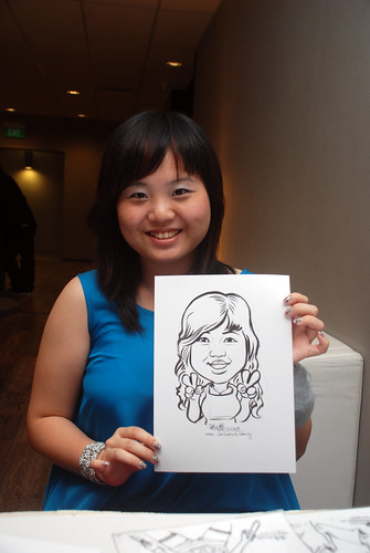 Caricature live sketching for Lonza - 22