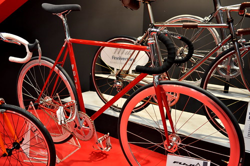 Fuji bikes at Cycle Mode Tokyo