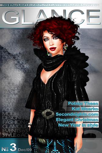 GLANCE Magazine December 09 Cover