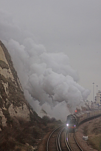 60163 Tornado: White Cliffs Christmas Luncheon Special 21st December 2009