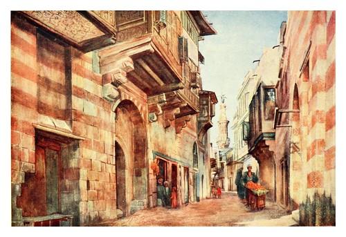 031-Sharia Darb El Gamamiz en el Cairo-Cairo, Jerusalem, and Damascus..1907- Margoliouth D. S.