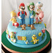 New Super Mario Bros Cake / Bolo de New Super Mario Bros