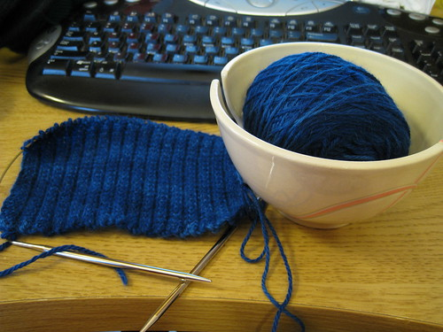 scarf in progress