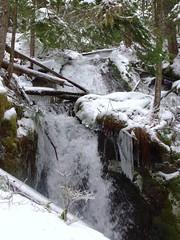 Zig Zag Falls (McD22) Tags: ice oregon zigzag littlezigzagfalls