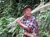 Tagin tribesman (Linda DV) Tags: people india hat cane canon geotagged culture bamboo clothes tribe ethnic minority 2008 sevensisters arunachal ethnology 7sisters arunachalpradesh northeastindia daporijo powershots5is minorité tagin minderheid lindadevolder