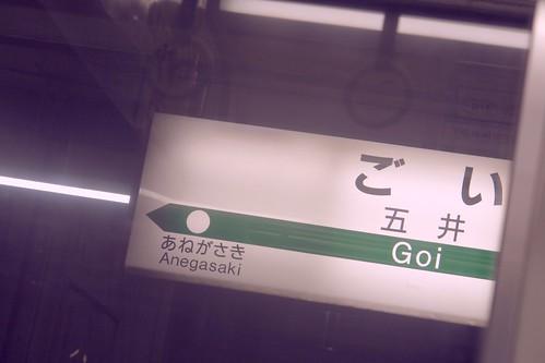 Goi to Anegasaki