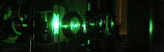 Ze LASER! (QuietDangst) Tags: work lens mirror lab science sample laser physics argon interferometer cryostat photoluminescence