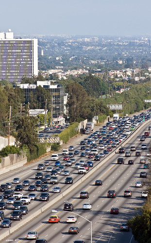 I405 Los Angeles Traffic