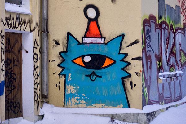 Фото самых простых граффити