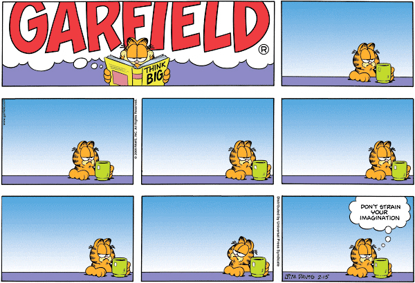 Garfield Minus Arbuckle, February 15, 2009