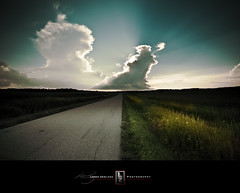 From Here to There (Loren Zemlicka) Tags: road flowers summer sky grass wisconsin clouds rural landscape photography countryside photo midwest image country picture explore rays sunbeam canonef1740mmf4lusm paoli canoneos5d flickrexplore flickrfrontpage lorenzemlicka