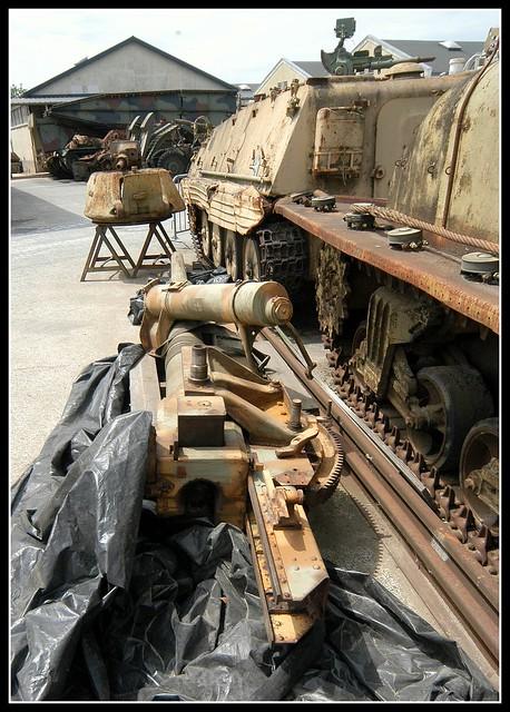 Saumur Tank Museum Sherman DD(3)