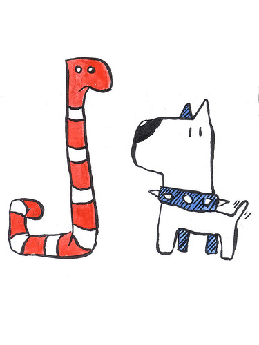 Worm & dog