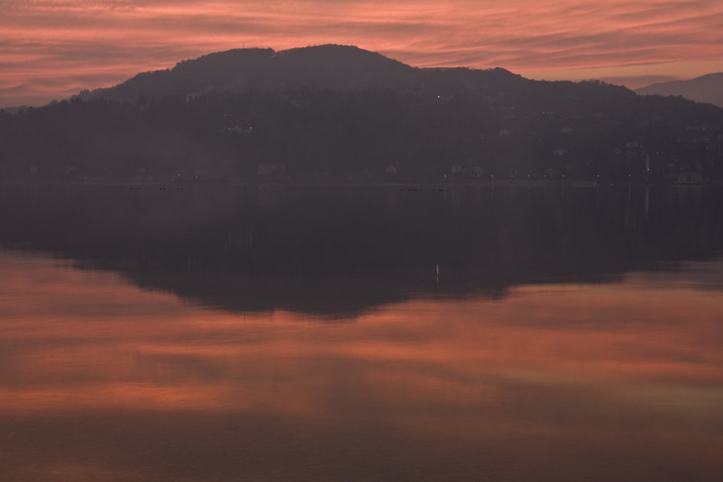 Sunset over Lake Maggiore #12
