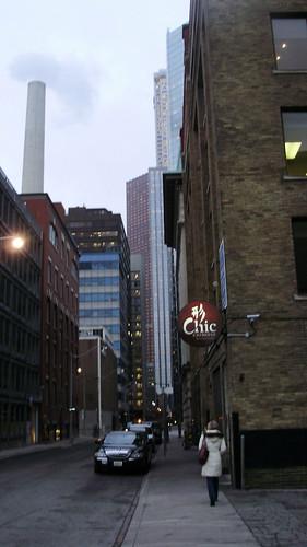 Pearl Street, downtown Toronto