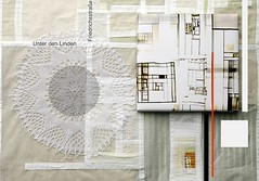 FEMALE BAUHAUS, Berlin, city-map. (helen.wogan) Tags: city white abstract berlin art collage female illustration work germany circle typography photography design graphicdesign photo mixed media europa europe experimental foto graphic map handmade mixedmedia contemporary sewing interieur unterdenlinden fine workinprogress experiment progress grafik textile helen fabric bauhaus patchwork fiber typo friedrichshain lowbrow wogan typographie tactile citymap typografie objekt graphik produkt unikat experimentaltypography tactileart thypography zeitgenssisch helenwogan designobject designobjekt hauptstadtobjekt femalebauhaus inworkprogress
