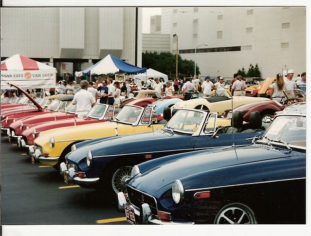 KANSAS CITY MG CAR CLUB MEET 1980S