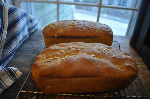 Two Oatmeal Loaves