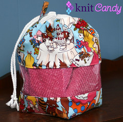 Peek-a-boo Bag - A Mad Tea Party
