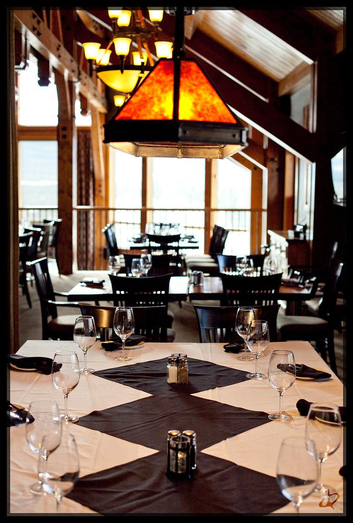 Iron Goat: Upper Floor Dining Area