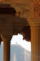 View from the Diwan-I-Aam (ejhrap) Tags: india elephant architecture amber fort column jaipur rajasthan jaigarh diwaniam diwaniaam