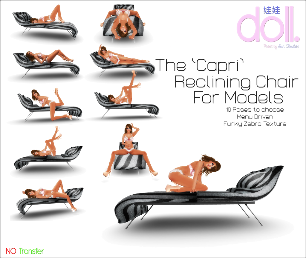 [doll.] The Capri Reclining Chair
