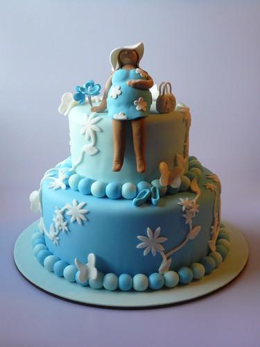 pregnant lady cake. Pregnant Lady Cake