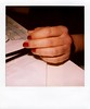 Hand in glove (ale2000) Tags: red woman playground square polaroid donna hand skin 5 five polish nails 600 mano instant rosso slr680 pelle cinque patrizia unghie smalto istantanea aledigangicom thepossibleexhibition polaroiddayvol2 instantanalog