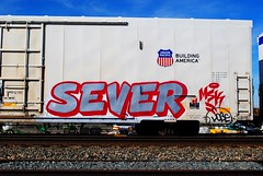 Sever MSK (208 Bench) Tags: art train graffiti rails msk graff freight sever armn buildingamerica
