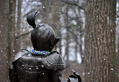 A Knight in the Snow (BKHagar *Kim*) Tags: snow al alabama knight elkriver athensal estremit bkhagar