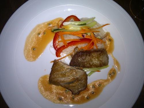 Thunfisch mit Glasnudeln
