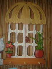 Chaveiro jardim (Atelier Arteira da Serra) Tags: jardim chaveiro pinturacountry