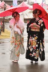 IMG_2757_e (Hongyonggao) Tags: kimono redumbrella plumflower